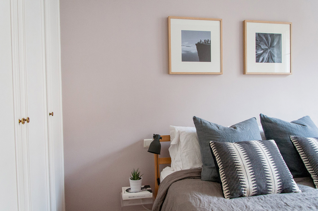 Peignoir paint pink bedroom ideas from Apartment Therapy