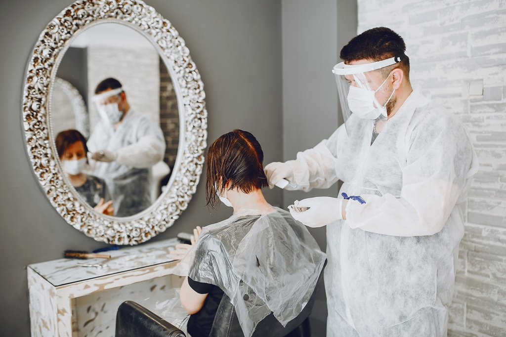 managing stress at the hairdressers