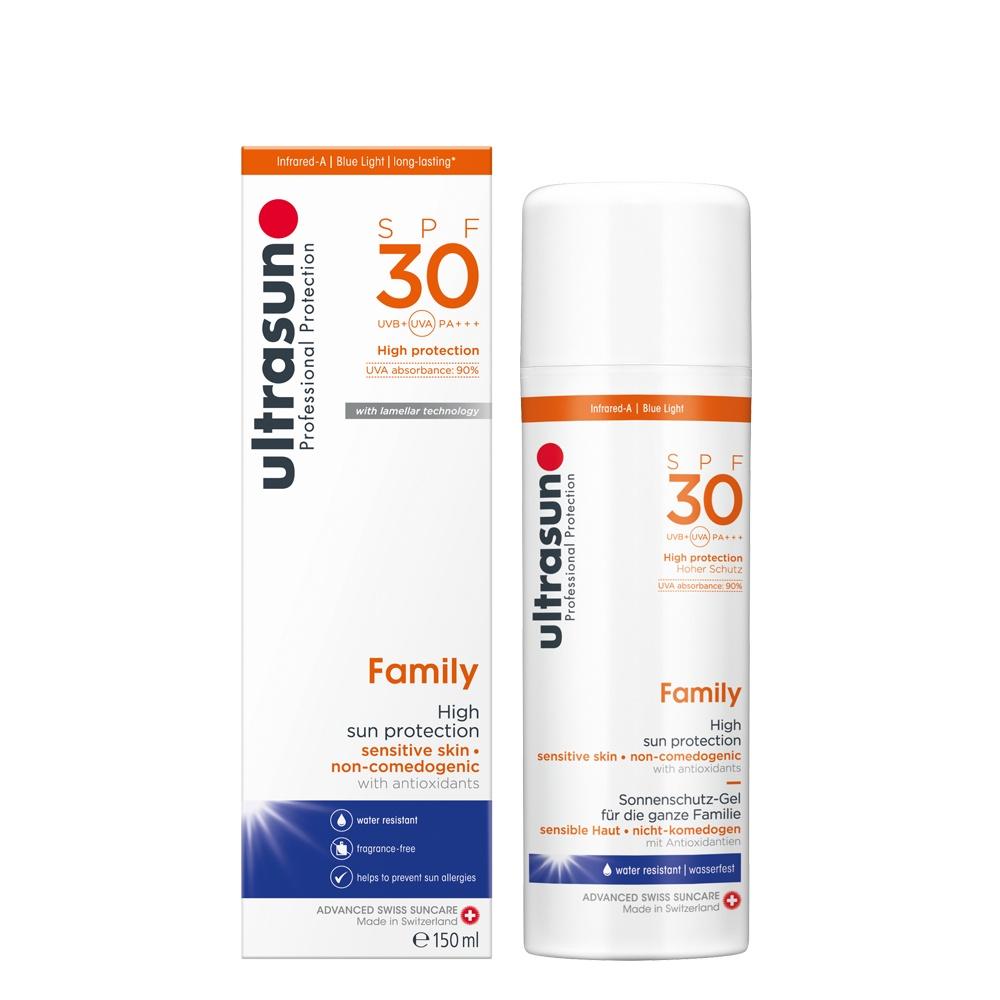 Ultrasun family sunscreen