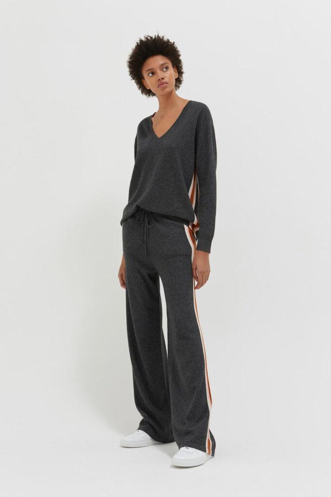 Chinti & Parker grey heritage loungewear set