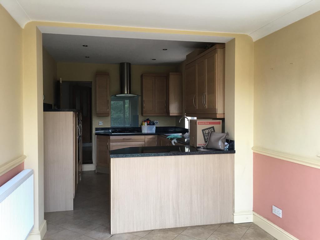 Kitchen before shot