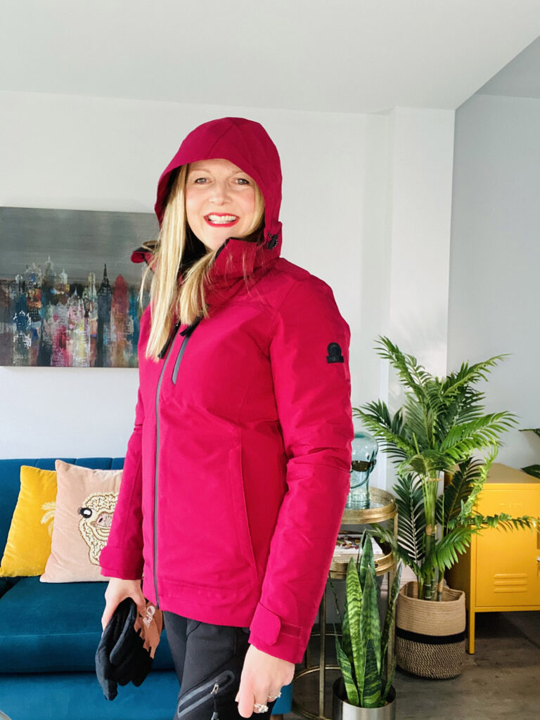 walking gear jacket with hood from Tog24