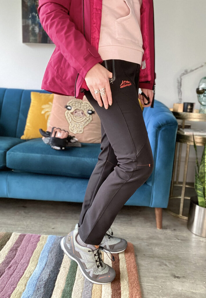 Outdoorsport trousers for walking