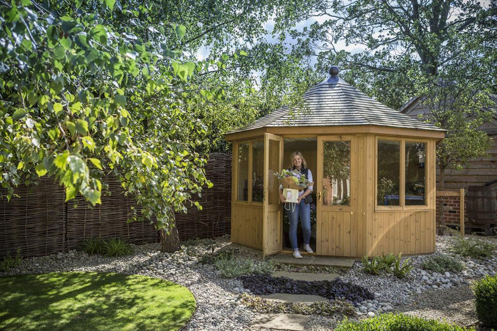 Florist business insulated garden room 2