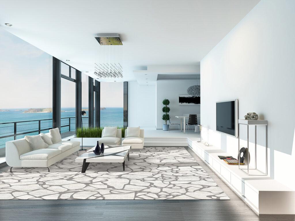 Fractured luxury rugs SoteriaAV