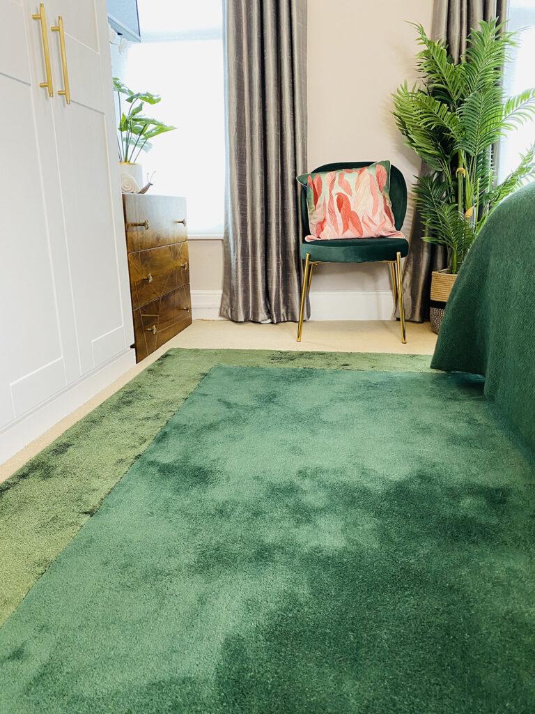 Rugs UK Ascot rug green