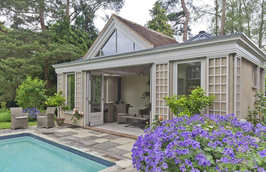Vale Garden Houses pool room 2