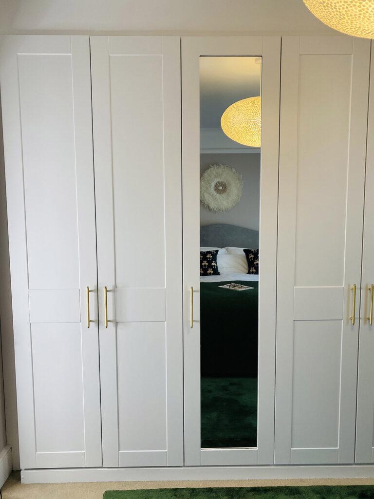 Wardrobe door handles master bedroom ideas