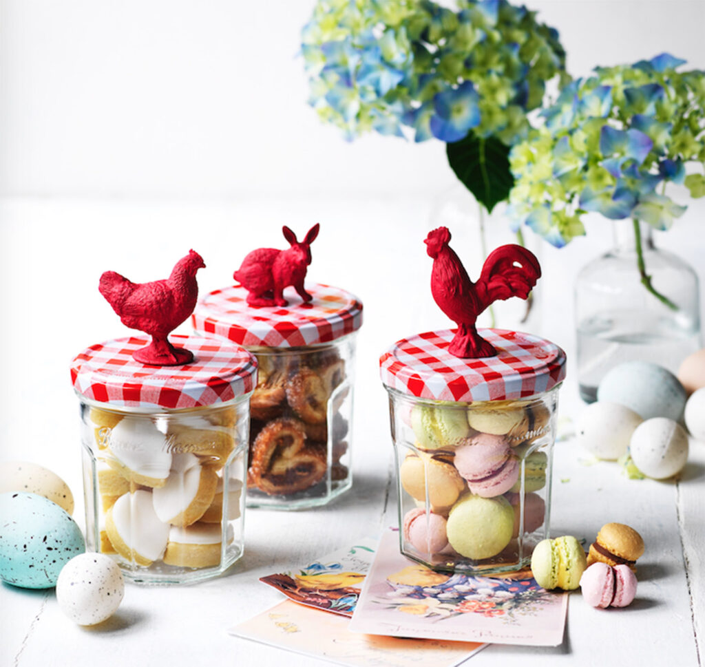 Easter baking biscuits