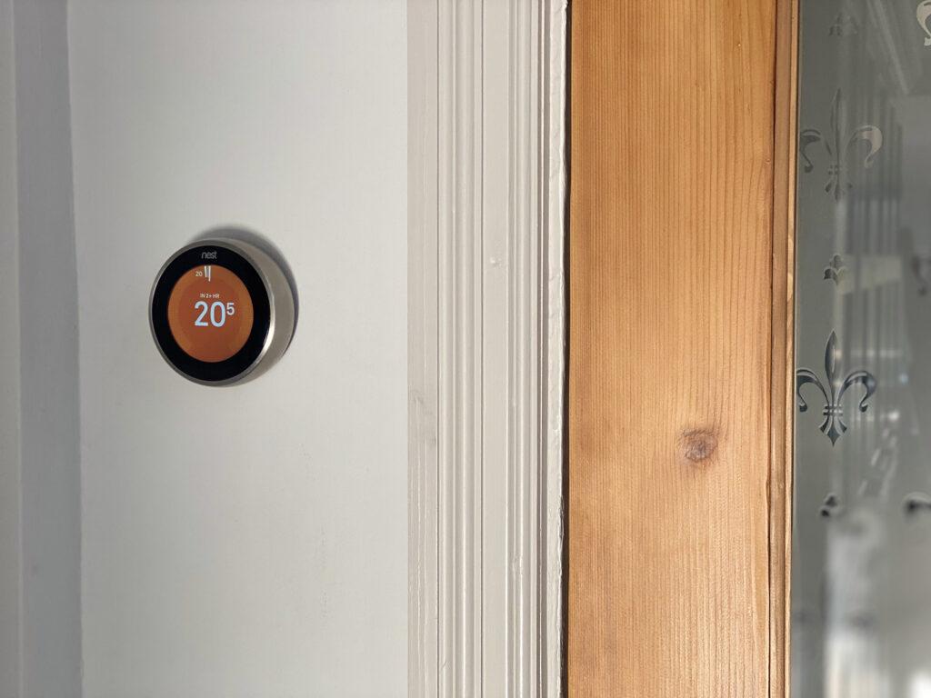 Nest thermostat landscape