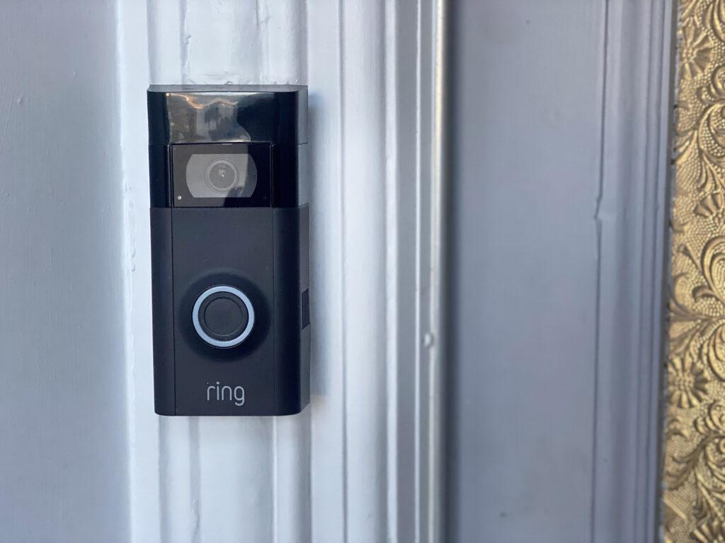 Ring doorbell landscape