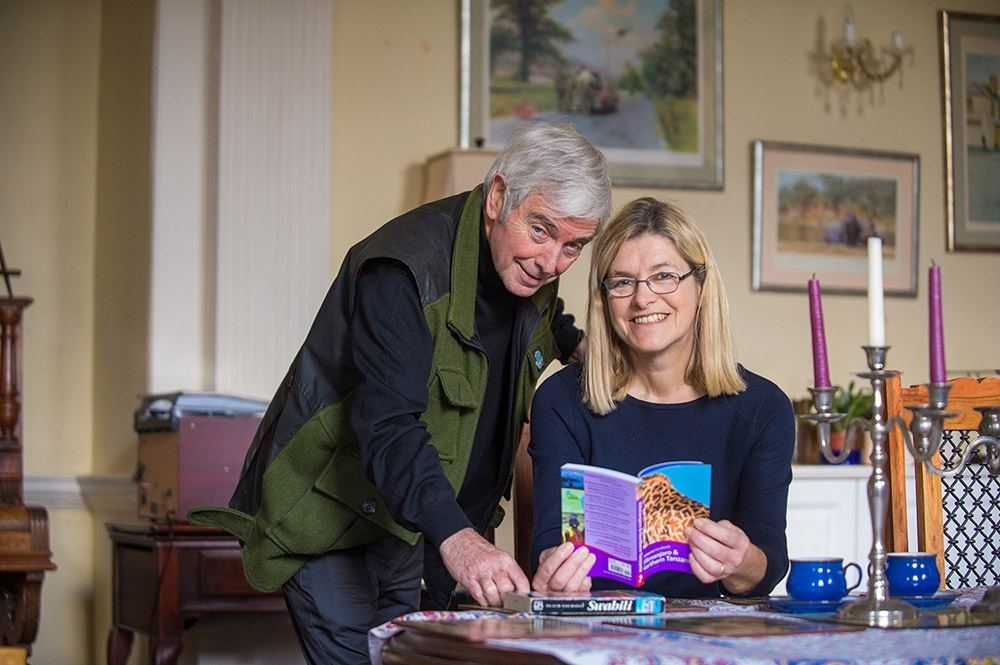 Avril and Michael living with dementia