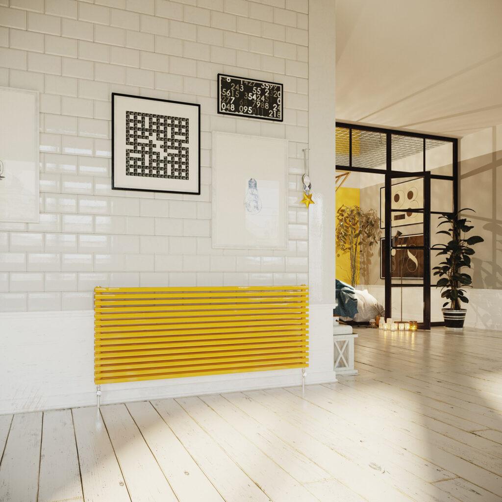 Cube Horizontal designer radiators and towel rails