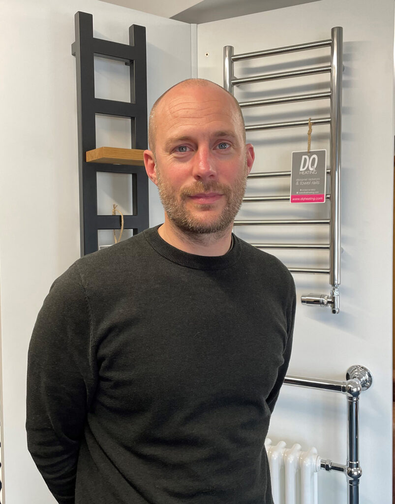 designer radiators and towel rails specialist Stewart Double at DQ Heating