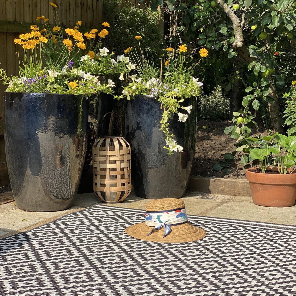 Garden patio ideas outdoor rug